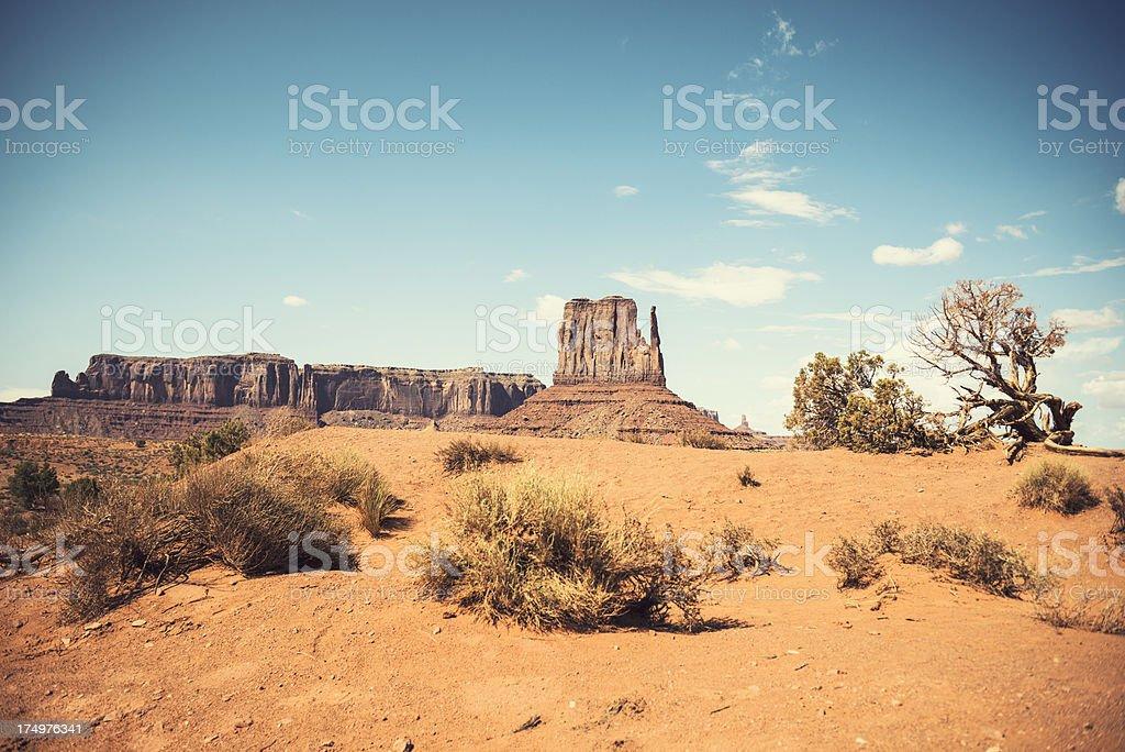 Monument Valley panorama - tribal navajo National park