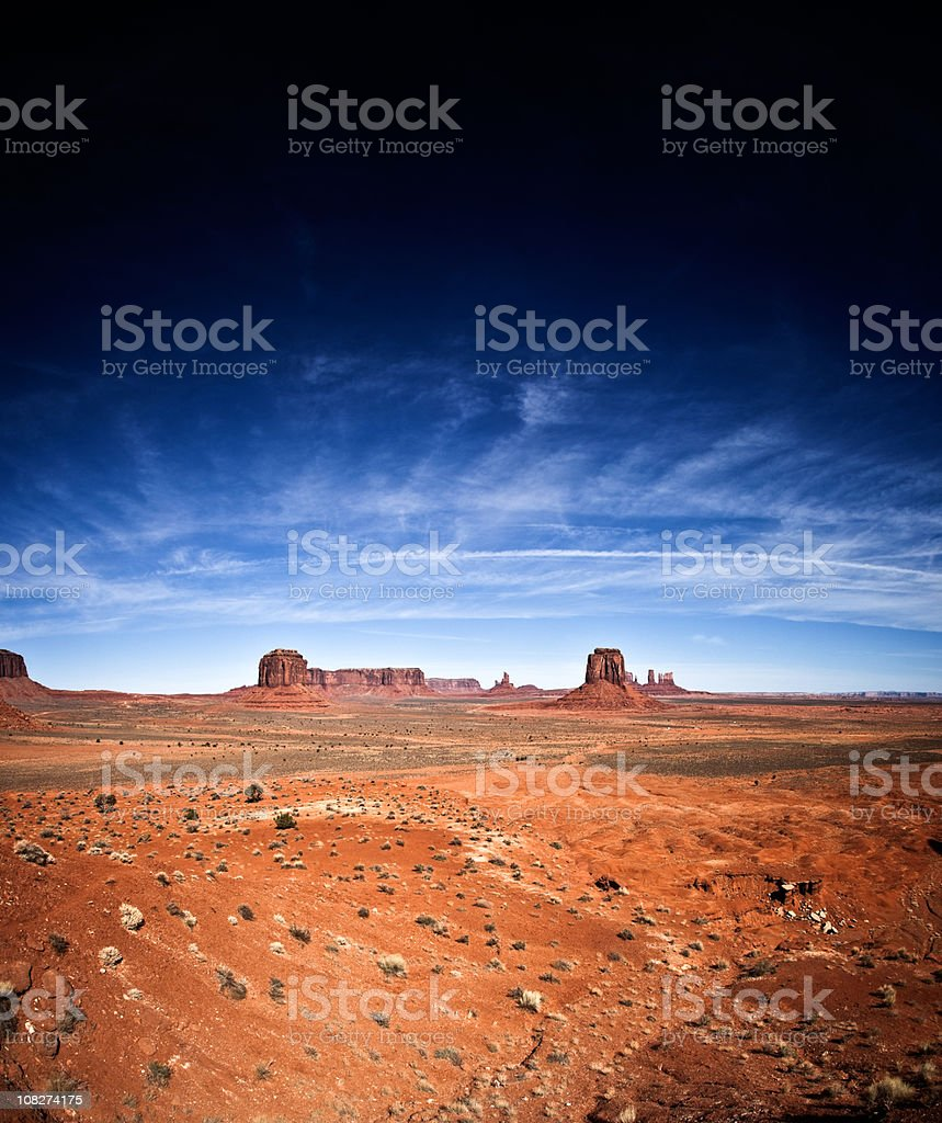 Monument Valley royalty-free stock photo