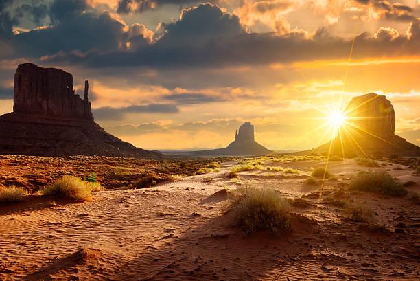 Monument Valley stock photo