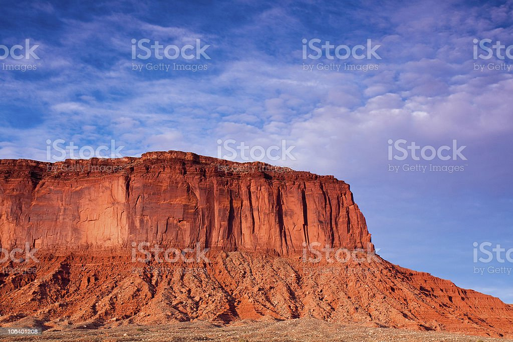 Monument Valley Rocks royalty-free stock photo
