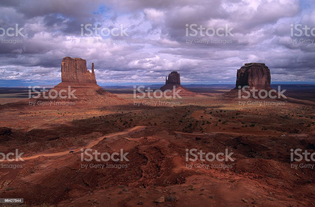 Monument Valley Tribal Park Utah royalty-free stock photo