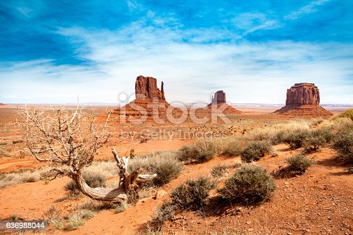 Three sister at Monument Valley - USA