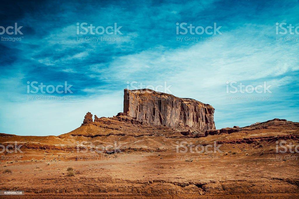 Three sister at Monument Valley - USA