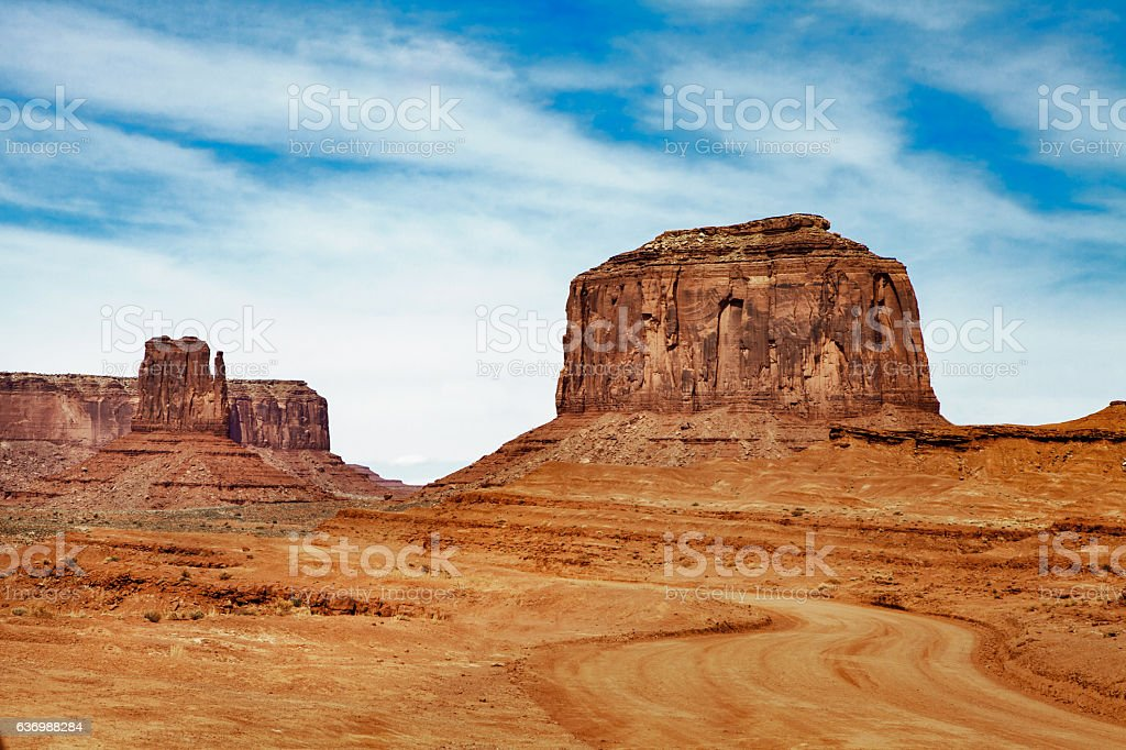 Monument Valley - United States of America stock photo