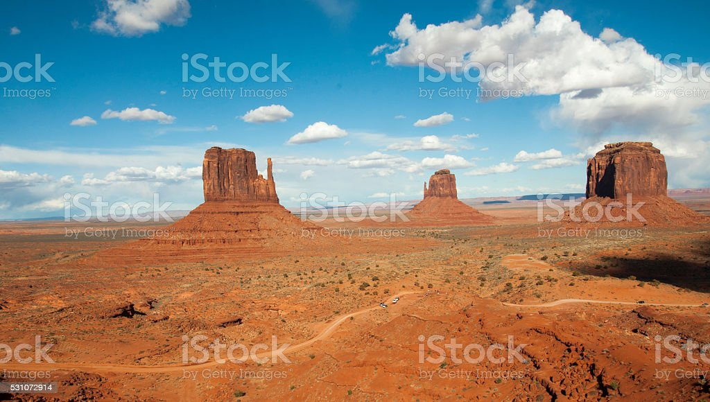 monument valley, USA, country country road stock photo