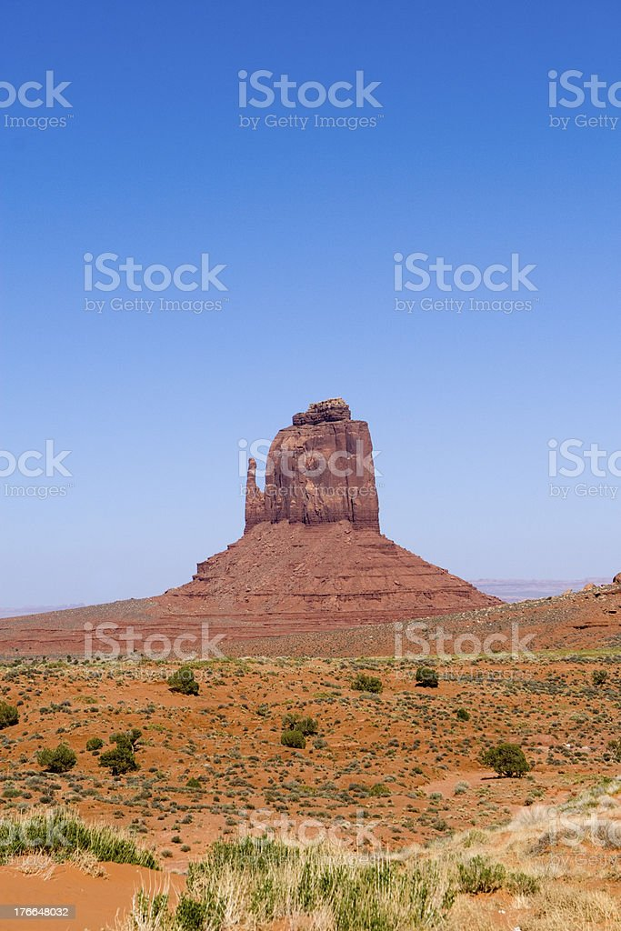 Monument Valley. USA royalty-free stock photo