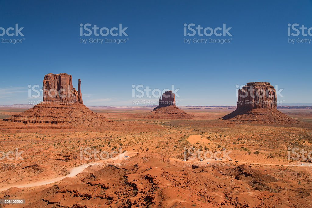 Inside Monument Valley, USA