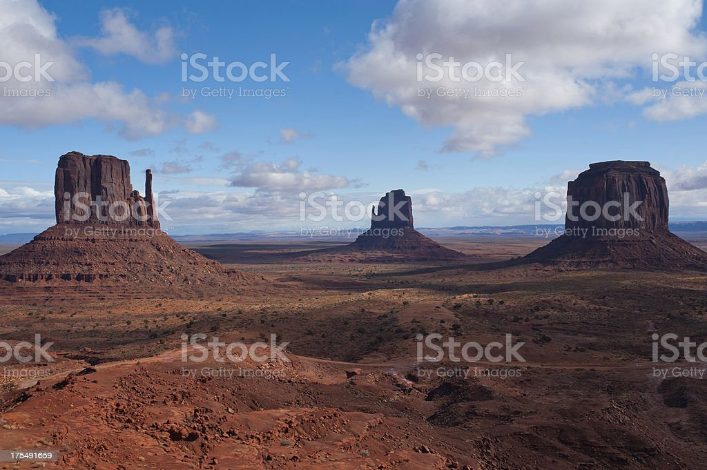 Monument Valley view stock photo