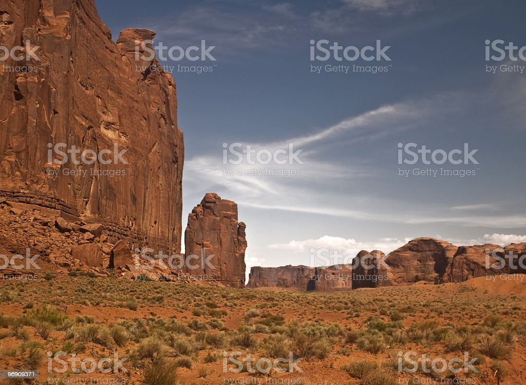 Monument Valley View royalty-free stock photo