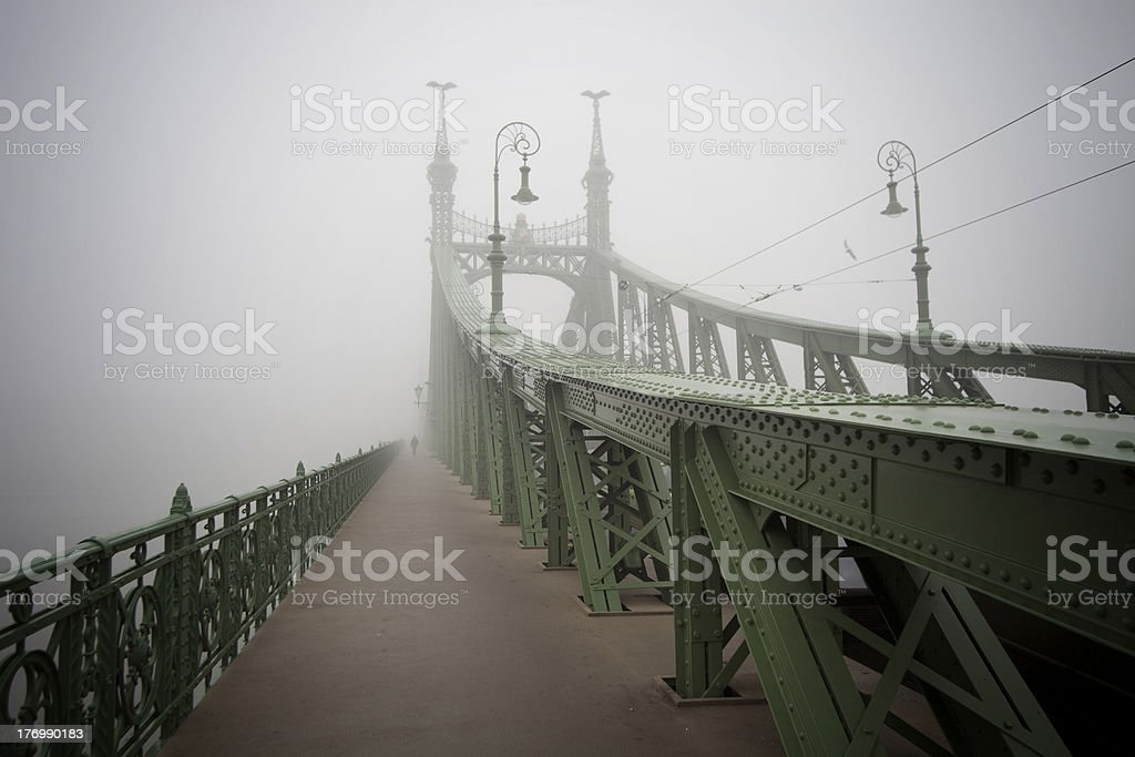 Monumental austro hungarian bridge royalty-free stock photo