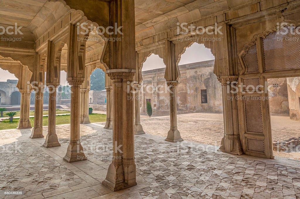 Monumental Pillars stock photo