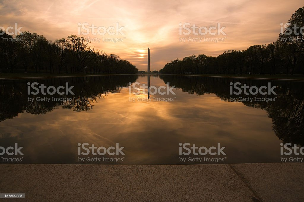 Monumental Relaxation stock photo