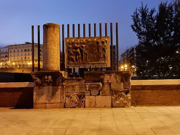 monumento a manfredi di svevia - göttliche komödie stock-fotos und bilder