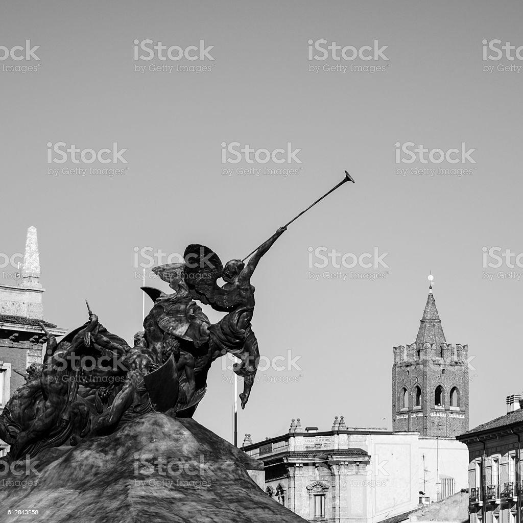 Monumento ai caduti - Monza stock photo