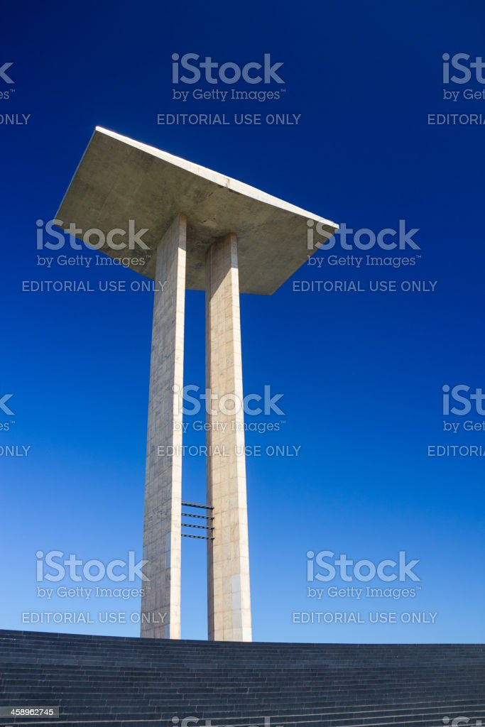 Monumento aos Pracinhas royalty-free stock photo