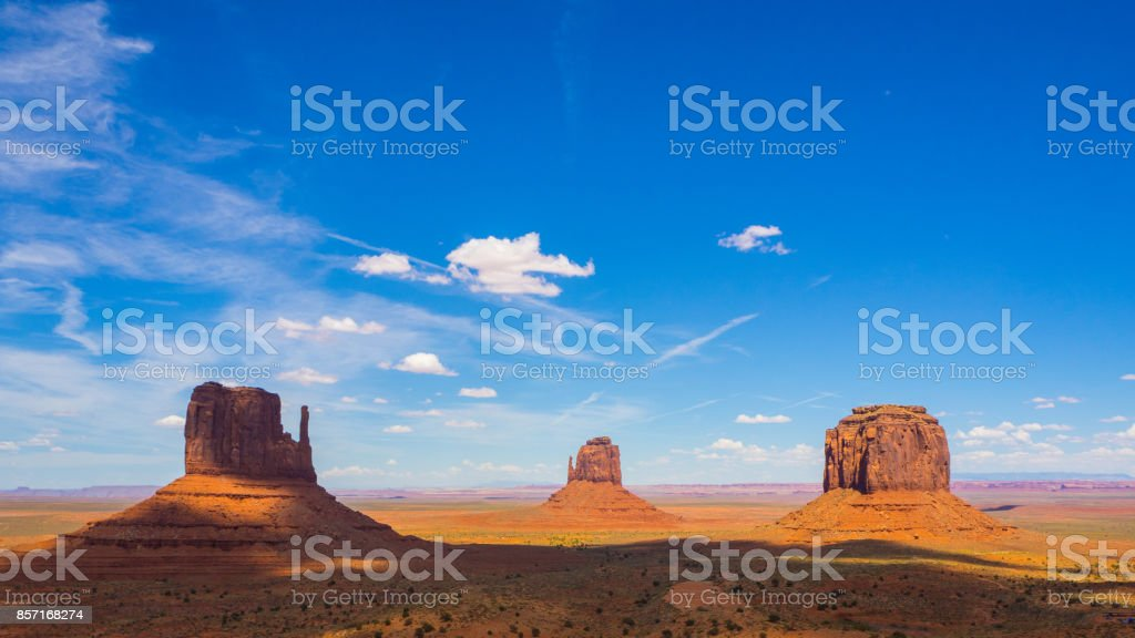 Monuments of the Valley stock photo