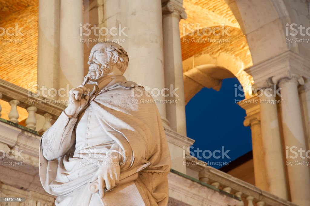 Monuments of Vicenza - foto stock