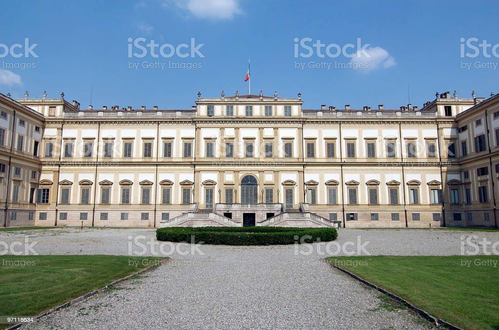 Monza (Milan): Royal Palace (Villa Reale), exterior stock photo
