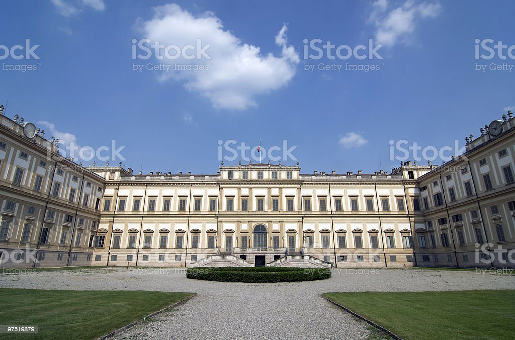 Monza (Italy) - Royal Palace stock photo