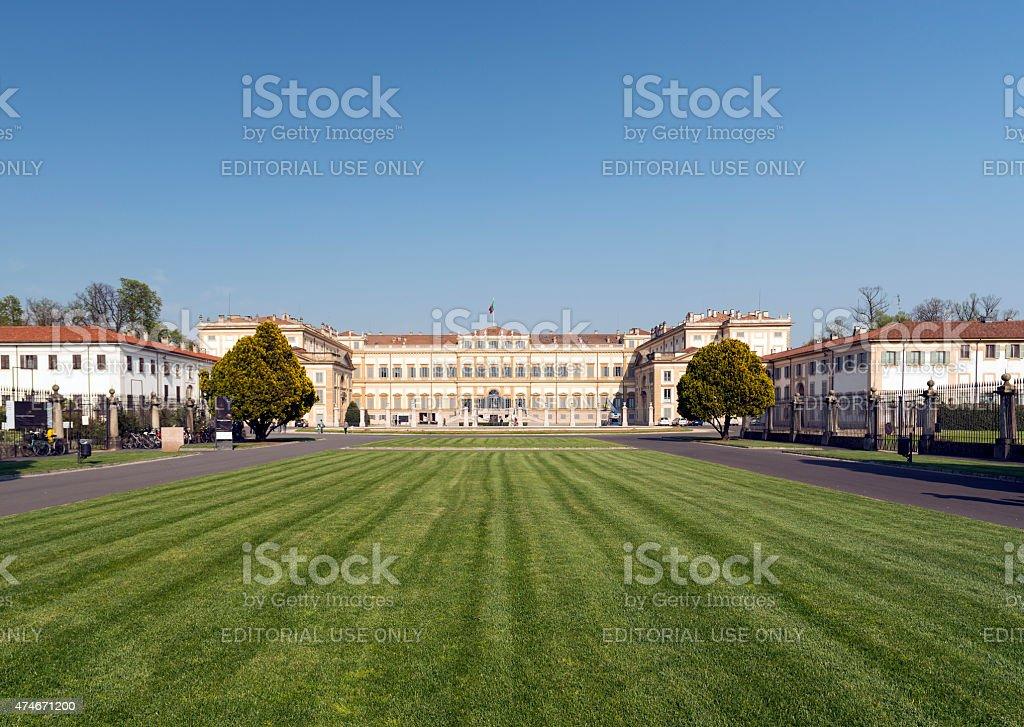 Monza (Italy), Villa Reale stock photo