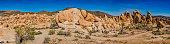 Monzogranite rock formations in Joshua Tree National Park, California