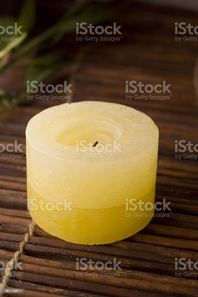 Mood Candle II royalty-free stock photo