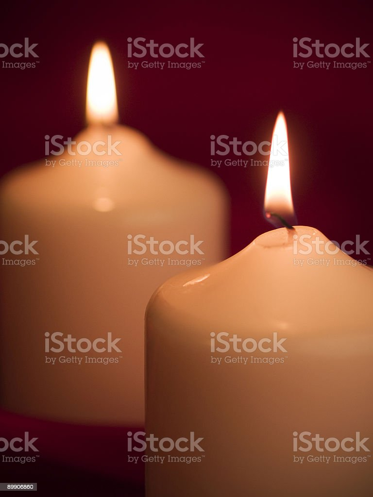 Mood Candles royalty-free stock photo