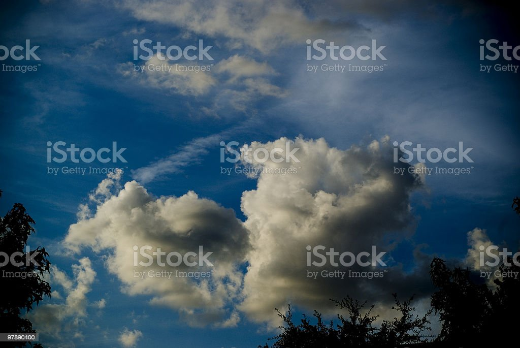 Moody Clouds royalty-free stock photo
