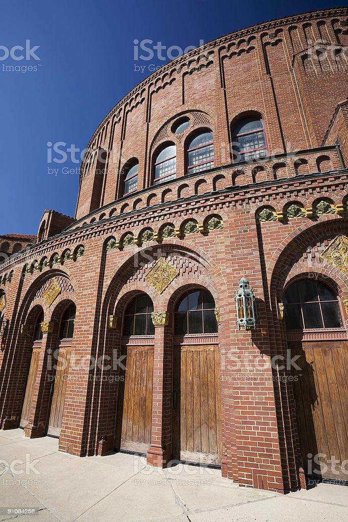 Moody Memorial Church, Chicago stock photo