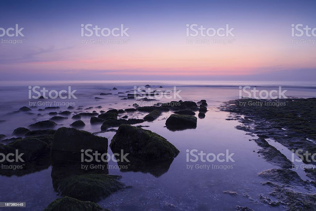 moody seascape royalty-free stock photo