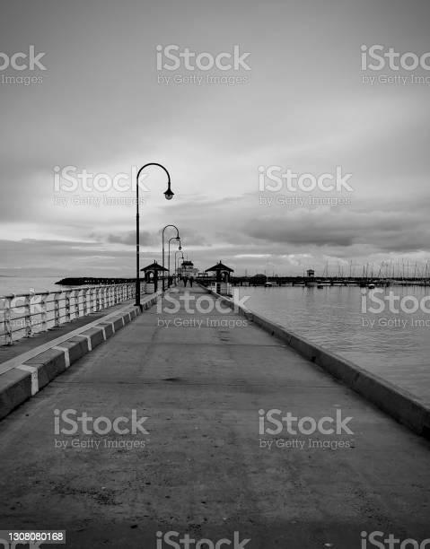Photo of Moody Skies over the Marina