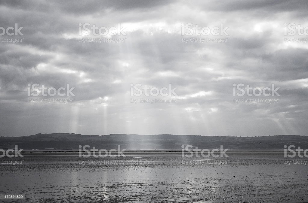 Moody sky royalty-free stock photo