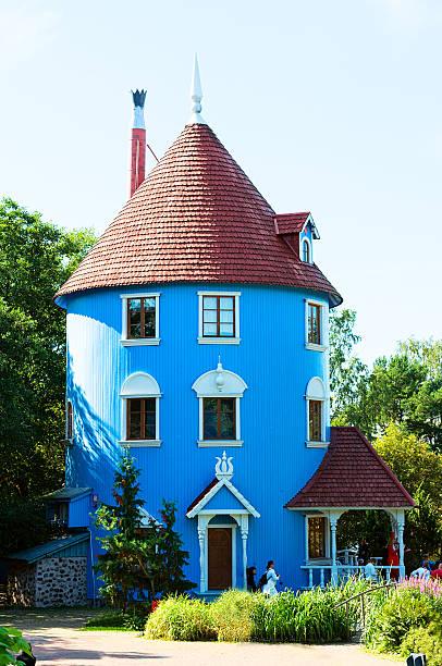 Moomi house in Moominworld.Finland – Foto