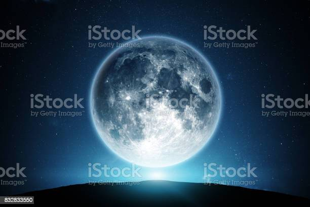 Photo of Moon and night sky