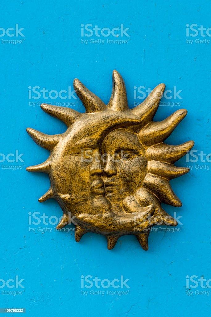 sun sculpture wall art