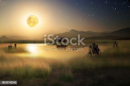 478539432istockphoto moon and the stars 924019240