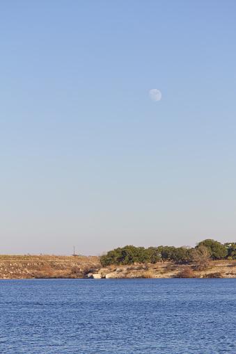 istock Moon at Brushy Creek Regional Trail 507845326