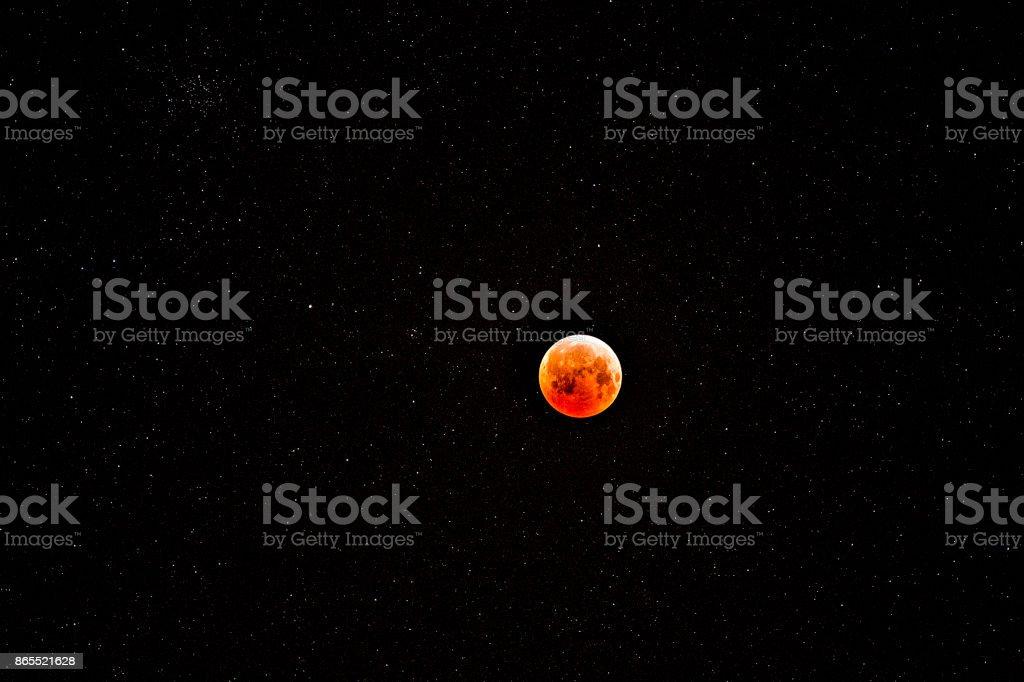 maan bij nacht foto