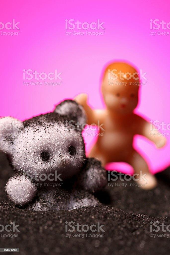 Moon Babies royalty-free stock photo