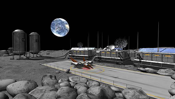 Mond-base – Foto