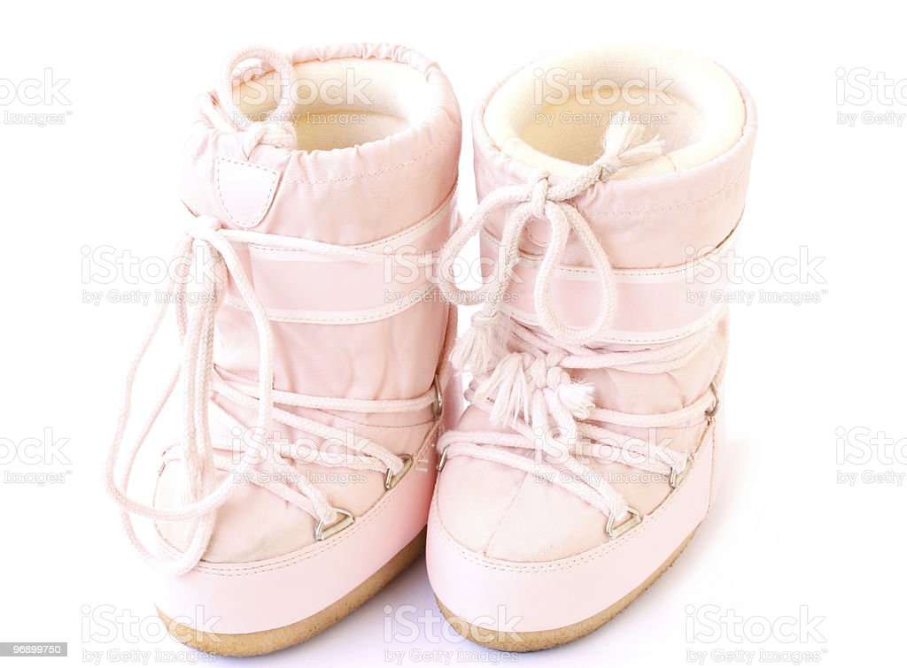 moon boots royalty-free stock photo
