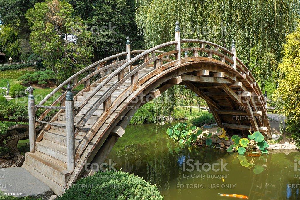 Moon Bridge stock photo