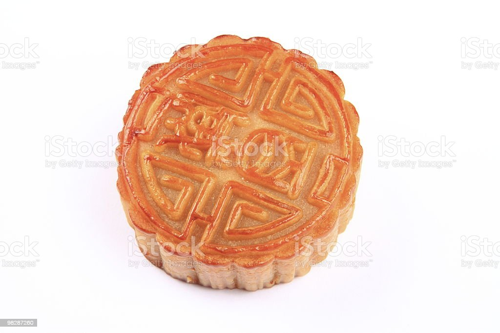 Moon cake royalty-free stock photo