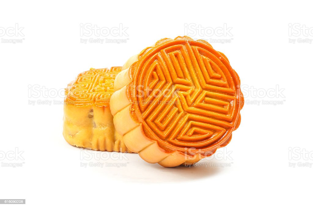 Moon Cake Variety stock photo
