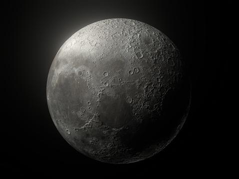 Earth's Moon Close Up