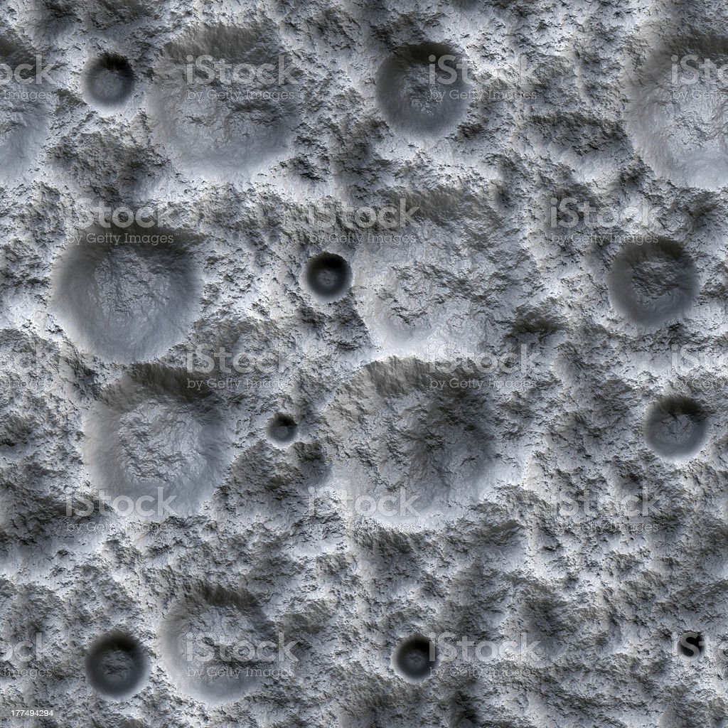 Moon Ground Seamless texture royalty-free stock photo