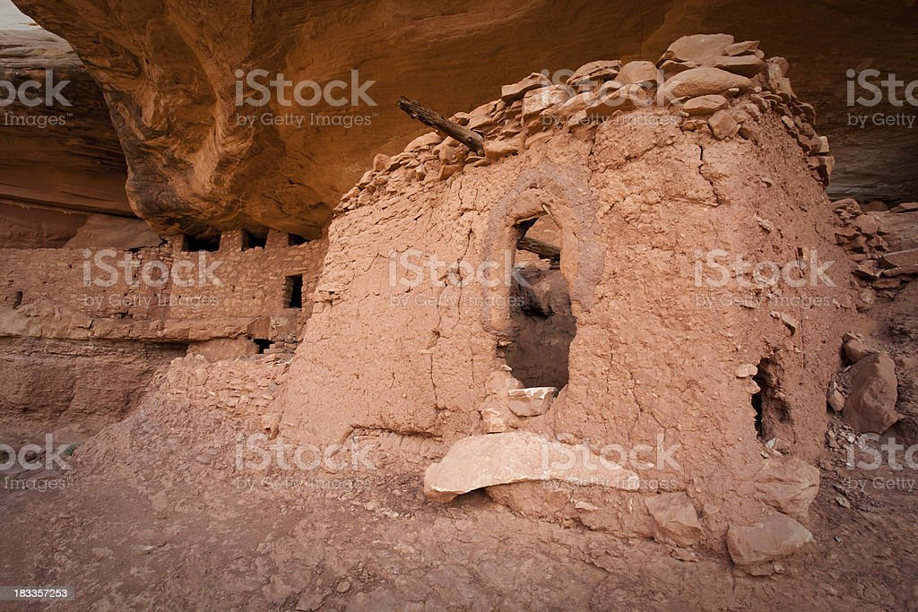 Moon House Ancient Ruins stock photo