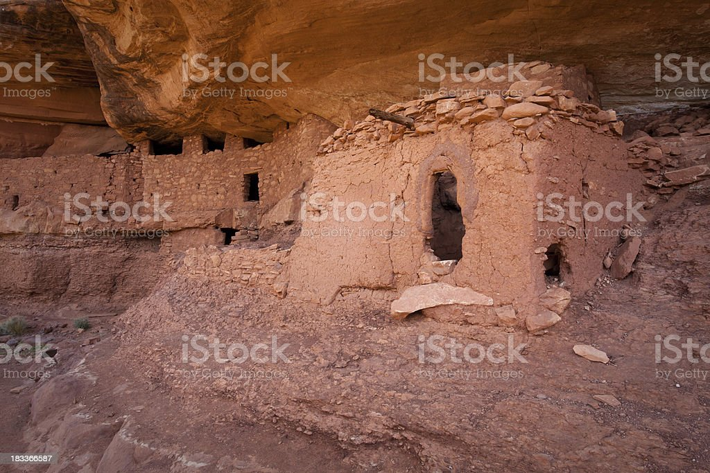 Moon House Complex Building Structures stock photo