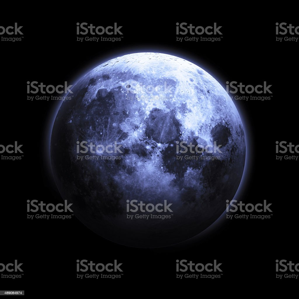 Moon In the Sky stock photo