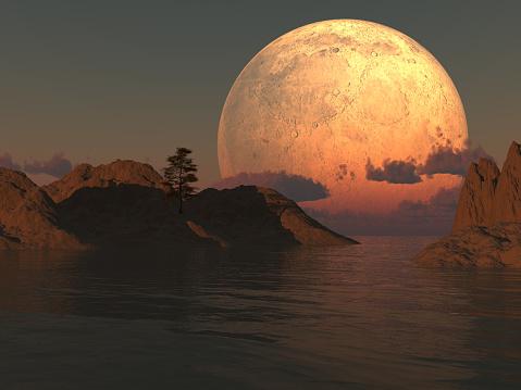 Moon Island Lake